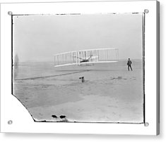 1903 Wright Brothers First Flight Acrylic Print