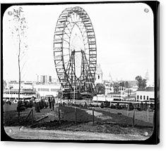 1904 Worlds Fair Observations Wheel Ferris Wheel Acrylic Print