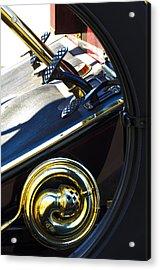 1907 Panhard Et Levassor Demi Toneau 38 Hp Horn Acrylic Print by Jill Reger