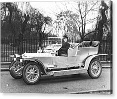 1907 Rolls-royce Silver Ghost Acrylic Print by Underwood Archives