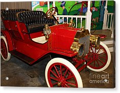 1908 Ford Model T Touring 5d25560 Acrylic Print by Wingsdomain Art and Photography