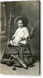 1910 American Tomboy Acrylic Print by Historic Image