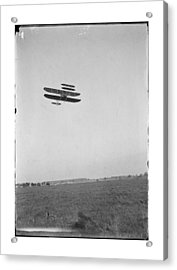 1910 Wright Brothers Flying School Acrylic Print