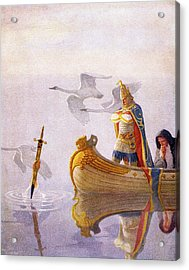 1910s King Arthur Sword Of Power Acrylic Print