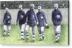 1911 Philadelphia Athletics Acrylic Print by Steve Dininno
