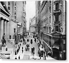 1911 Wall Street Acrylic Print