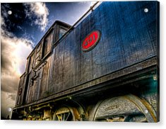 1912 Locomotive Acrylic Print by Phil 'motography' Clark