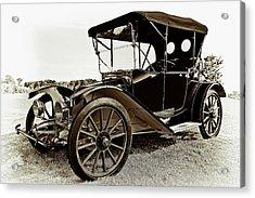 1913 Argo Electirc Model B Roadster Coffee Acrylic Print by Marcia Colelli