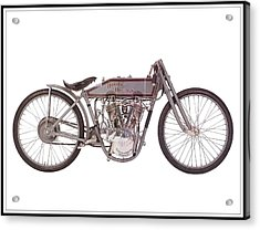 1915 Harley-davidson 11-k Acrylic Print by Maciek Froncisz