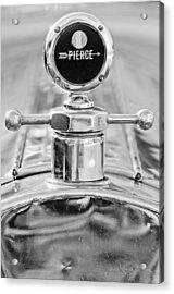 1920 Pierce-arrow Model 48 Coupe Hood Ornament - Motometer Acrylic Print by Jill Reger