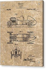 1920 Roadster Patent Acrylic Print