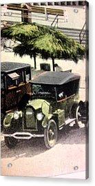 1920's Automobiles Acrylic Print