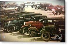 1920's Autos Acrylic Print