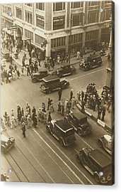 1920s Dallas Downtown Acrylic Print