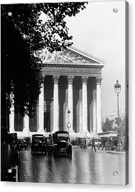 1920s La Madeleine Paris France Acrylic Print