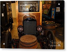 1921 Ford Model T Snowmobile 5d25582 Acrylic Print by Wingsdomain Art and Photography