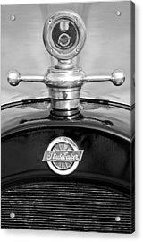 1922 Studebaker Touring Hood Ornament 3 Acrylic Print by Jill Reger