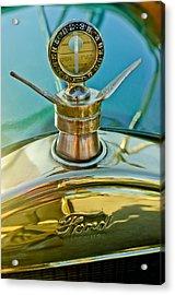 1923 Ford Model T Hood Ornament Acrylic Print