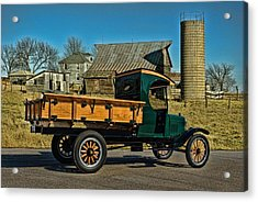 1923 Ford Model Tt One Ton Truck Acrylic Print