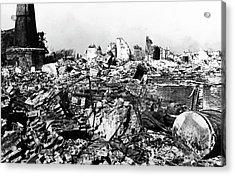 1923 Great Kanto Earthquake Acrylic Print