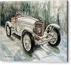 1923 Mercedes Ps Sport- Zweisitzer Acrylic Print by Joey Agbayani
