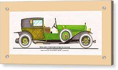 1923 Minerva By Raymond H. Dietrich Lebaron Inc Acrylic Print by Jack Pumphrey