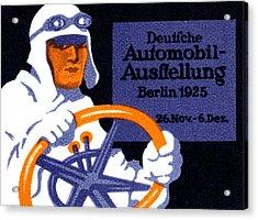1925 Berlin Car Show Acrylic Print by Historic Image