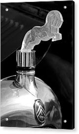 1925 Citroen Cloverleaf Hood Ornament 2 Acrylic Print