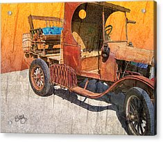 1925 Ford Truck Acrylic Print by Larry Bishop