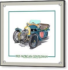 1925 Morgan Gentleman Acrylic Print by Jack Pumphrey