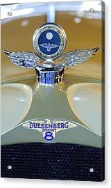 1926 Duesenberg Model A Boyce Motometer Acrylic Print by Jill Reger