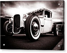 1928 A Coupe Acrylic Print by Phil 'motography' Clark