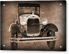 1928 Ford Model A Coupe Acrylic Print