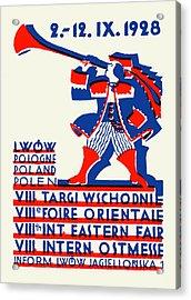 1928 Lwow Eastern International Fair Acrylic Print