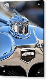 1929 Auburn 8-90 Speedster Hood Ornament Acrylic Print by Jill Reger