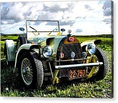 1929 Bugatti Acrylic Print by Bill Cannon