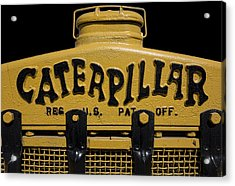 1929 Caterpillar Baby Dozer Grill Acrylic Print
