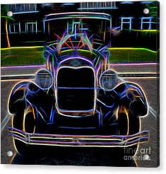 1929 Ford Model A - Vintage Car Acrylic Print by Gary Whitton