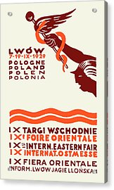1929 Lwow Eastern International Fair  Acrylic Print