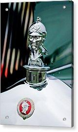 1929 Minerva Hood Ornament Acrylic Print