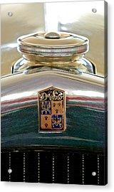 1930 Desoto K Hood Ornament Emblem Acrylic Print by Jill Reger