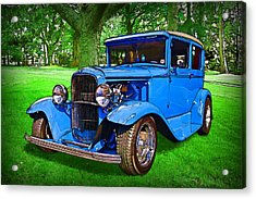 1930 Ford Acrylic Print by Richard Farrington