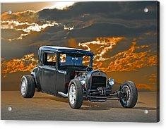 1930 Hudson Hod Rod I Acrylic Print by Dave Koontz