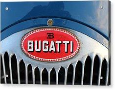1930's Ettore Bugatti Acrylic Print