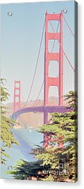 Acrylic Print featuring the photograph 1930s Golden Gate by Nigel Fletcher-Jones