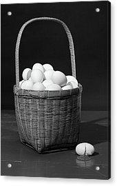 1930s Symbolic Still Life Dont Put All Acrylic Print