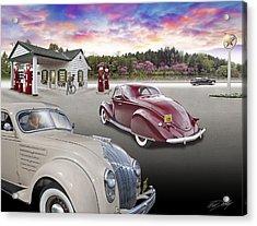 1930s - 40s Texaco Station Acrylic Print