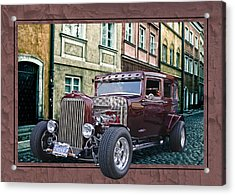 1931 Chev Acrylic Print by Richard Farrington