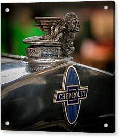 1931 Chevrolet Emblem Acrylic Print by Paul Freidlund