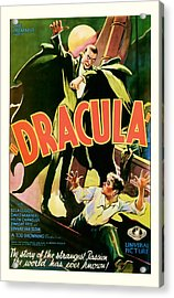 1931 Dracula Vintage Movie Art Acrylic Print